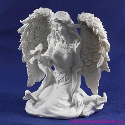 Engel mit Schmetterling