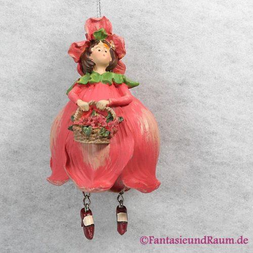 Blumenmädchen Mohn