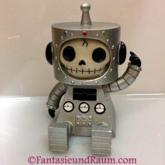 Furrybones Silver Robot