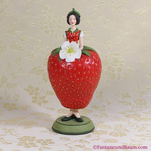 Blumenmädchen Erdbeere