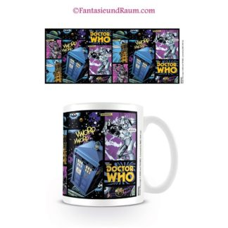 Doctor Who Tasse Comic Strip
