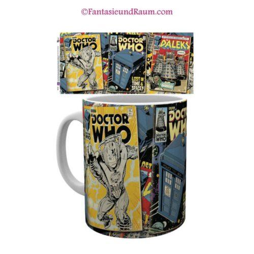 Doctor Who Tasse Comics