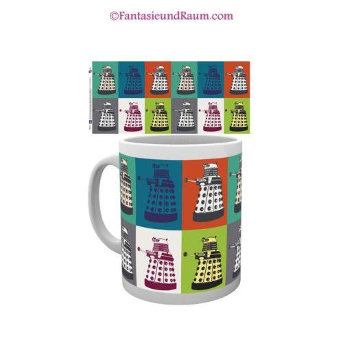 Doctor Who Tasse Pop Art