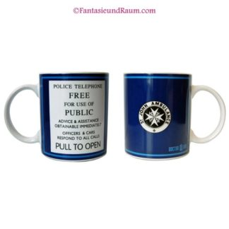 Doctor Who Tasse Public