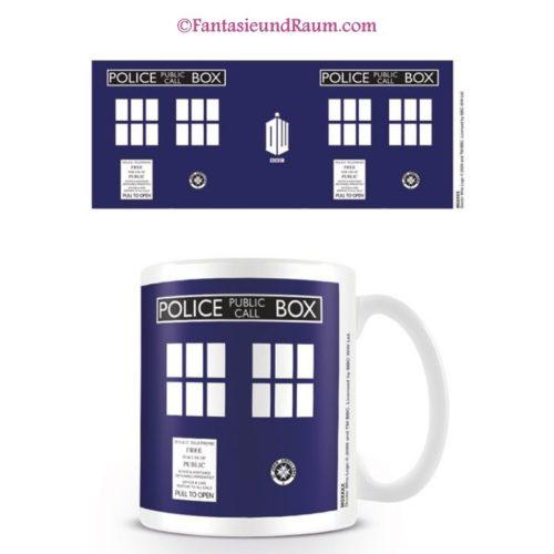 Doctor Who Tasse Tardis