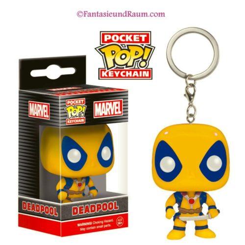 Keychain Yellow Deadpool