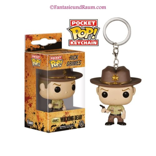 Pocket Pop! The Walking Dead - Rick Grimes Blood Spatter