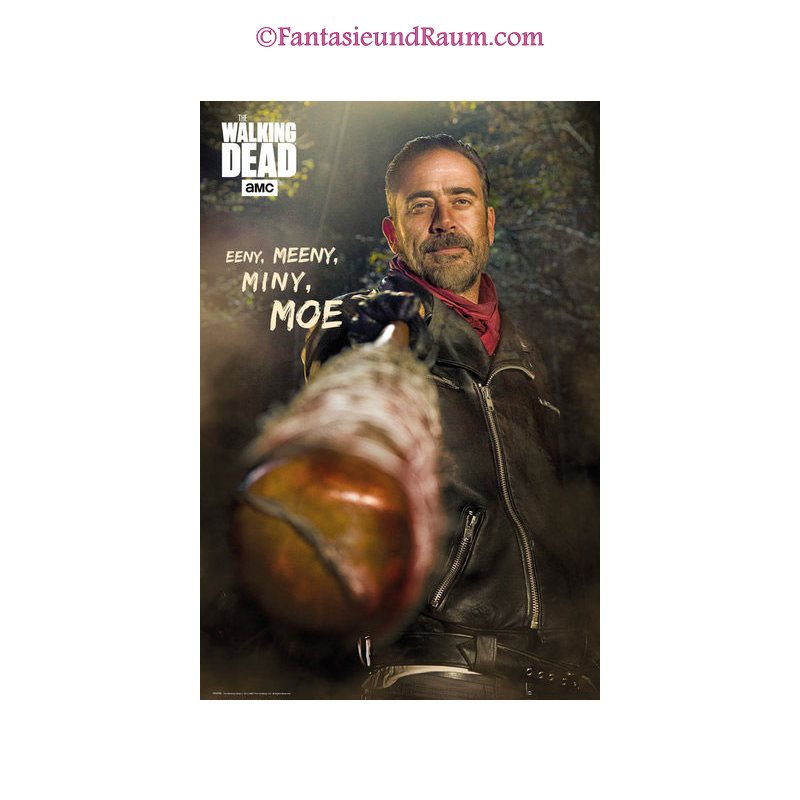 Walking Dead Poster Negan