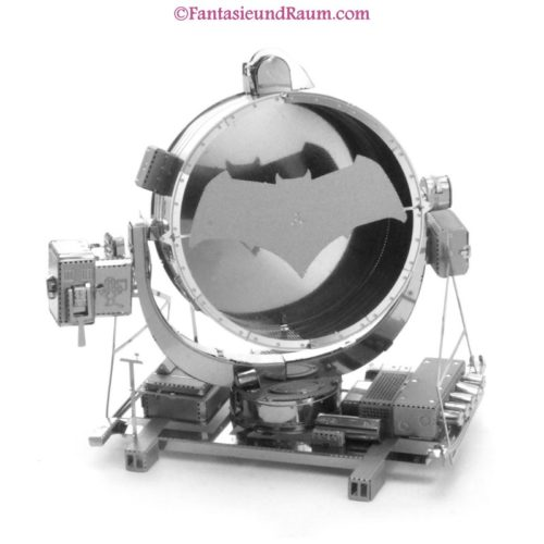 Batman vs Superman Bat-Signal- 3D Metall Modell