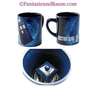 Doctor Who Tasse mit versteckter Tardis