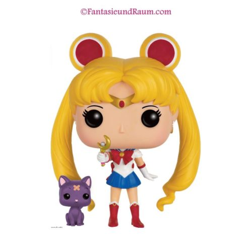 Sailor Moon Luna with Moon Stick