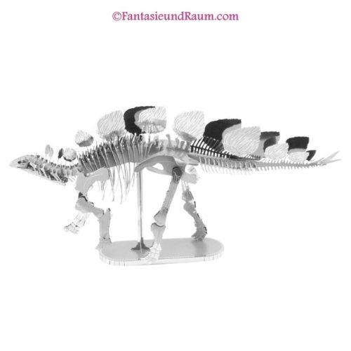 Stegosaurus - 3D Metall Modell