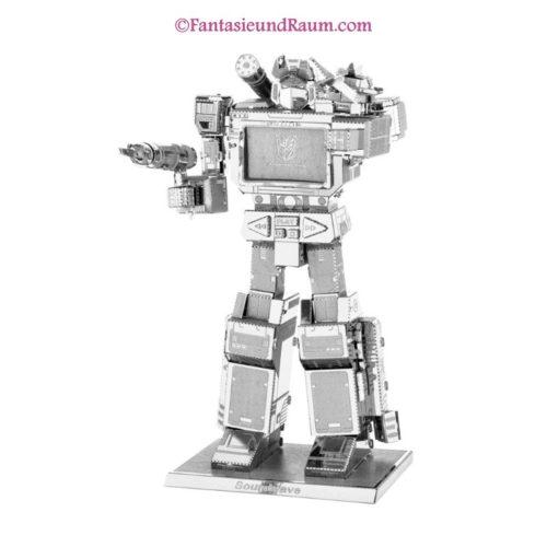 Transformers Soundwave- 3D Metall Modell