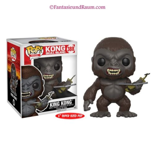 "Kong Skull Island - King Kong 6"""