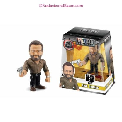 Metals Die Cast Figure - Walking Dead - Rick Grimes