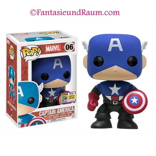 Black Blue Captain America SDCC 2017 (Exc)