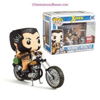 X-Men - Motorcycle & Wolverine