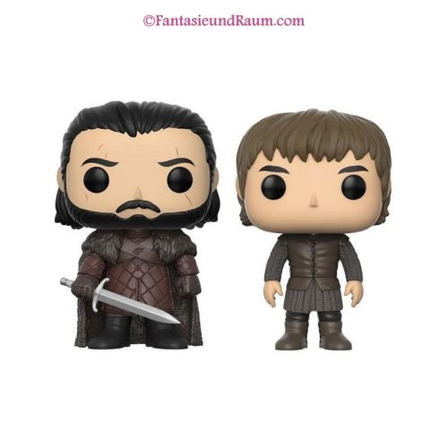 Game of Thrones - Doppelpack Jon Snow & Bran Stark