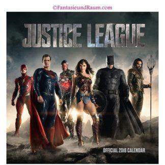 Justice League Kalender 2018