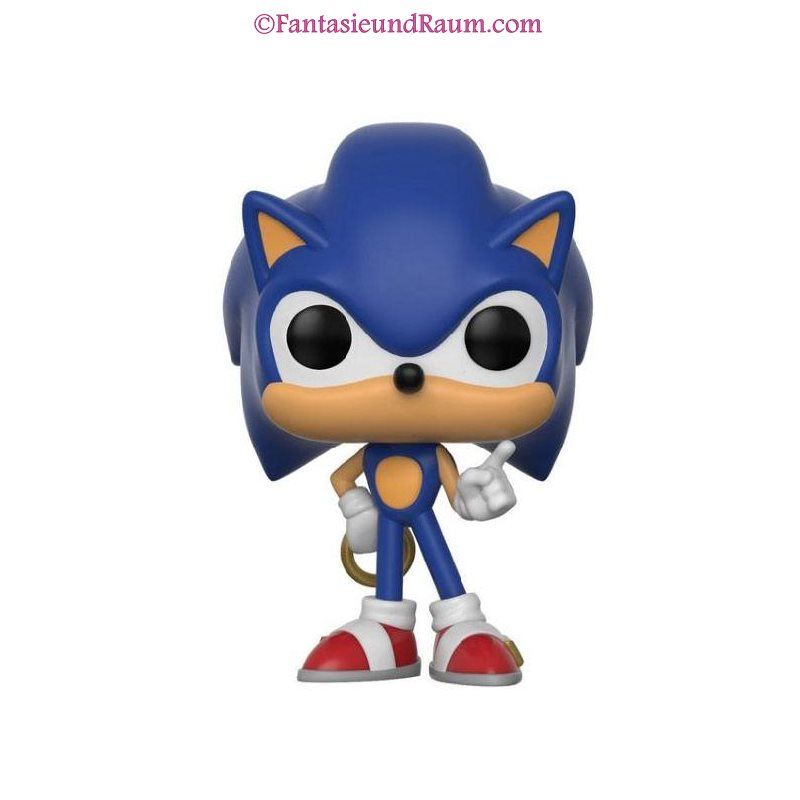 Pop! Games: Sonic The Hedgehog - Sonic with Ring - Fantasie und Raum