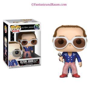 Elton John RedWhiteBlue