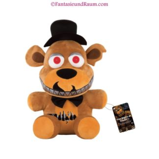 Five Nights at Freddy's Plüschfigur Nightmare Freddy