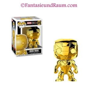 Marvel Studios 10 - Iron Man (Chrome)
