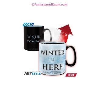Heat change mug Winter is here