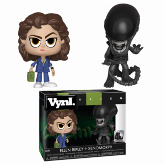 Vynl Xenomorph & Ripley with Tracker