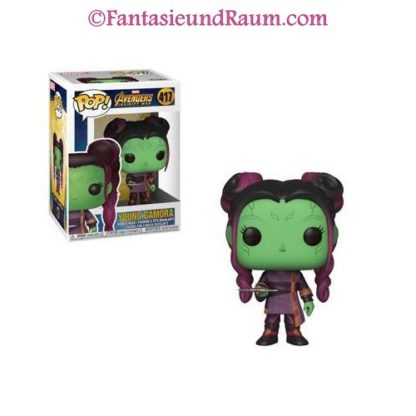 Young Gamora with Dagger
