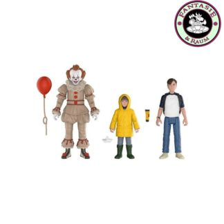 Actionfiguren 3-er Pack Pennywise, Bill, Georgie