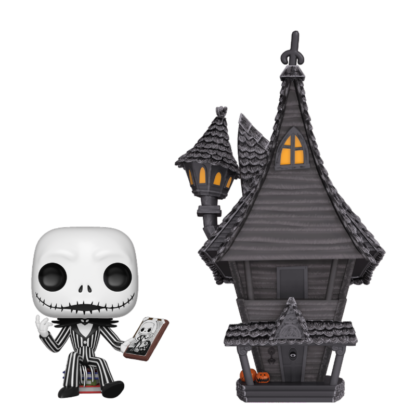 POP Town: Nightmare Before Christmas - Jack w/ Jack's House