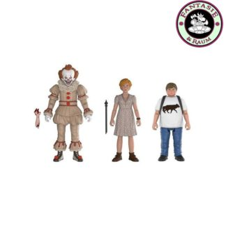 Stephen Kings Es 2017 Actionfiguren 3-er Pack Pennywise, Ben, Beverly 10 cm
