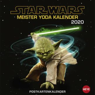 Star Wars Meister Yoda Postkartenkalender