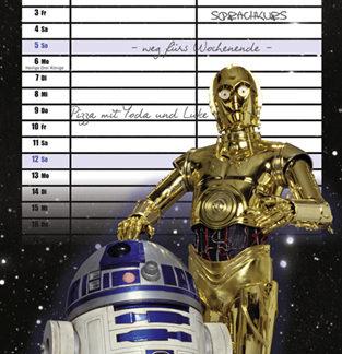 Star Wars Planer für zwei