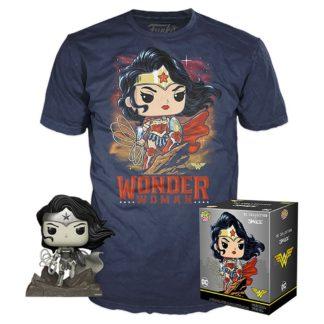 Figur & T-Shirt Set Wonder Woman heo Exclusive
