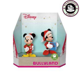 Disney Geschenkbox mit 2 Figuren Micky und Minnie Christmas