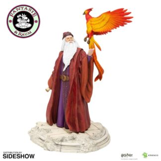 Harry Potter Statue Dumbledore mit Fawkes