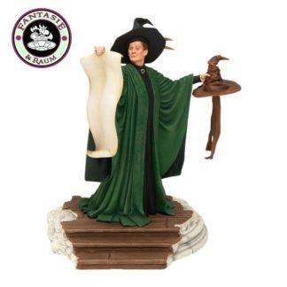 Harry Potter Statue Professor McGonagall mit Sprechendem Hut