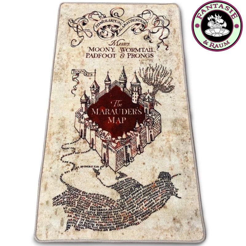 Preorder: Harry Potter Teppich Marauders Map 76 x 133 cm