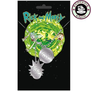 Rick and Morty Dog Tag