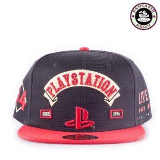Sony PlayStation Biker Snap Back Hip Hop Cap Logo