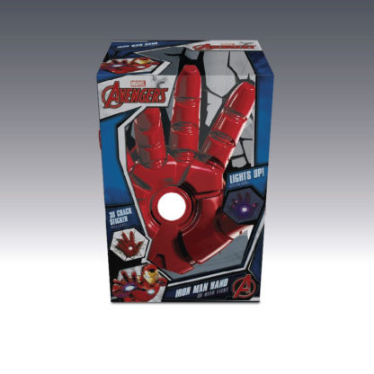 Avengers 3D LED Leuchte Iron Man Hand