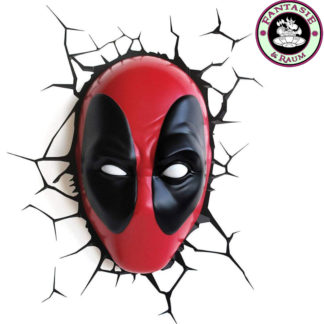 Marvel 3D LED Leuchte Deadpool