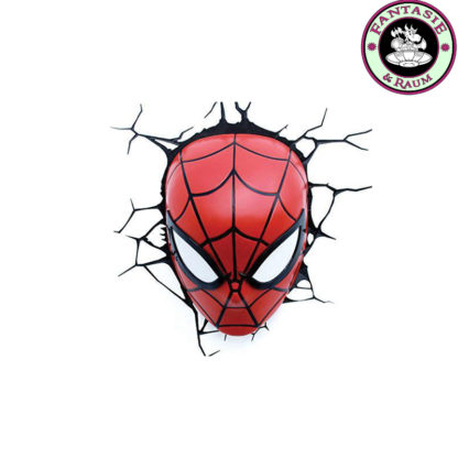 Marvel 3D LED Leuchte Spiderman