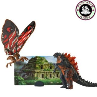 Godzilla King of the Monsters Monster Matchups Actionfiguren 9 cm Doppelpack Fire Godzilla & Mothra