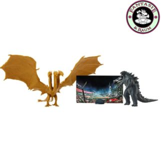 Godzilla King of the Monsters Monster Matchups Actionfiguren 9 cm Doppelpack Fire King Ghidorah & Godzilla