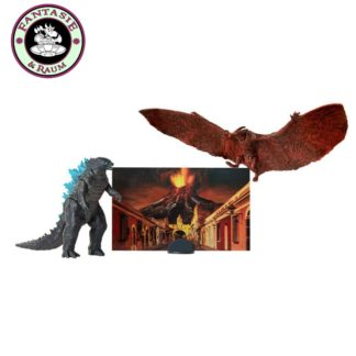 Godzilla King of the Monsters Monster Matchups Actionfiguren 9 cm Doppelpack Godzilla & Rodan