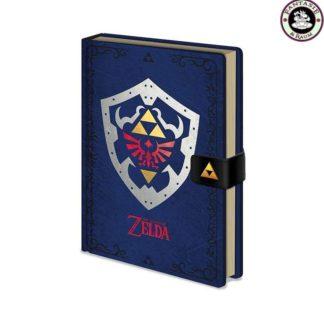 Legend of Zelda Premium Notizbuch A5 Hylian Shield
