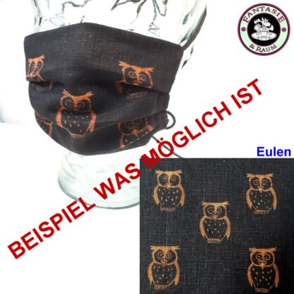 Maske Eulen
